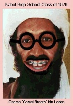 Bin Laden's yearbook photo