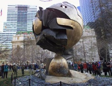 Fritz Koenig's Sphere at Battery Park